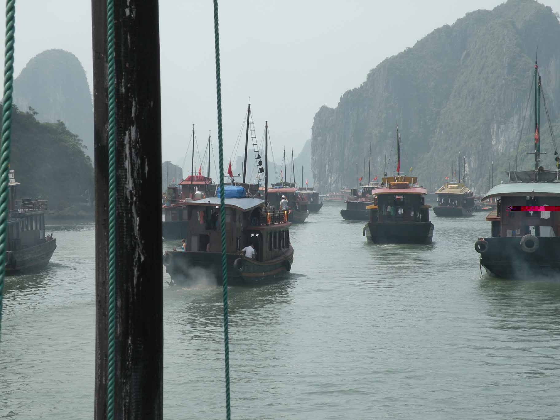 Rush Hour, Halong Bay, Vietnam