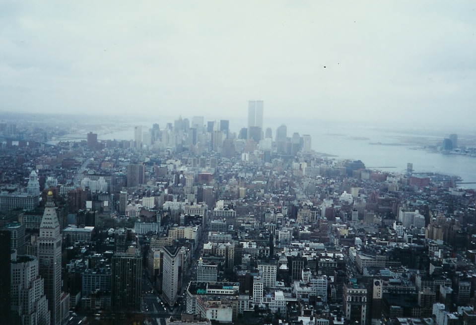 Pre 9-11 View From Empire State Building