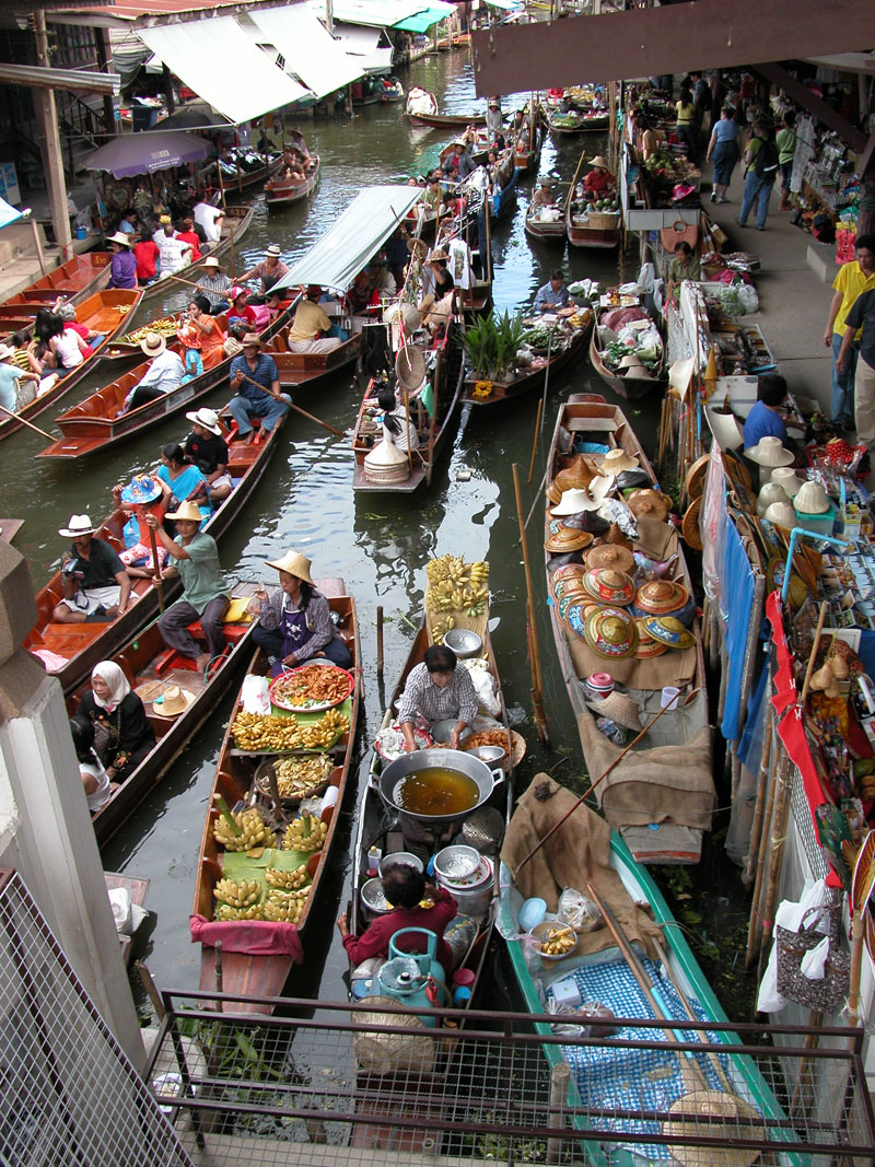 Floating Market In Ratchaburi