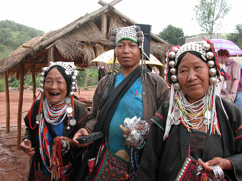 Hill Tribe People (Akha)